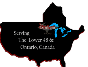 Ken Graham Trucking Inc, Serving the Lower 48 & Ontario Canada